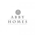 Abby Homes Logo B+W