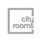 City Rooms Logo B+W